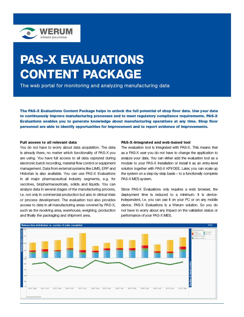 Cover_Werum_BR_0018_PAS-X_Evaluations_us