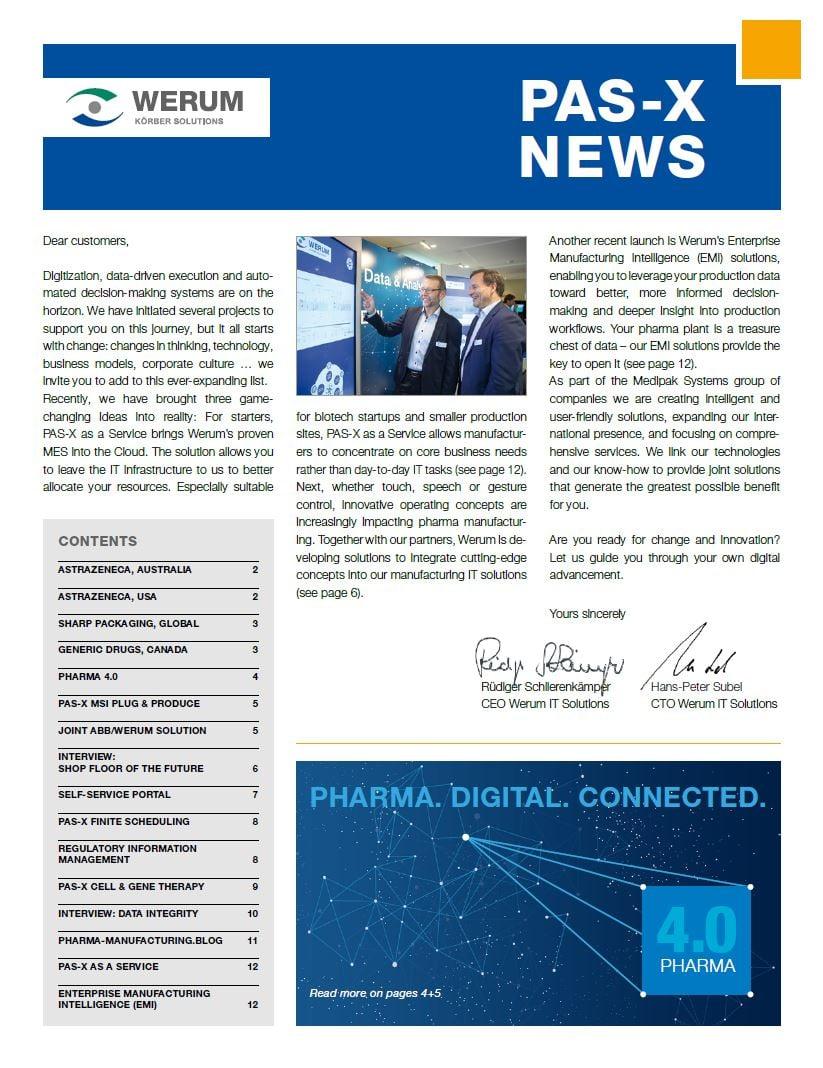 Cover_Werum_NL_0043_PAS-X-News-2018_us