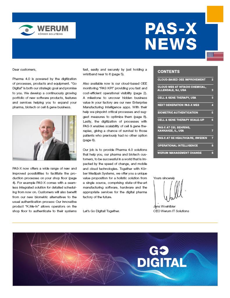 Cover_Werum_NL_0059_PAS-X-News-2019_us